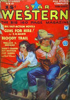 Star Western. Feb. 1934