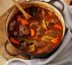 My go to Beef & vegetable casserole recipe - I like to add 1 cup of red wine and chestnut mushrooms to make it perfect for me.