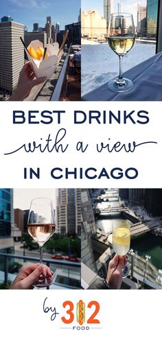 Chicago guide: the BEST drinks with a view in Chicago! via Your summertime checklist for the best drinks with the best views in Chicago -- including a few BRAND NEW spots. Chicago Vacation, Chicago Travel, Travel Usa, Chicago Trip, Chicago City, Chicago Lake, Travel Tips, Travel Ideas, Brunch Chicago