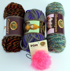 Enter to win three skeins of Lion Brand Yarn through AllFreeKnitting! Get your hands on these gorgeous colors before they're even in stores.