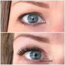 Pretty Set Of 3d Russian Lash Extensions At Salon25 My Work At Spring Lash Shedding