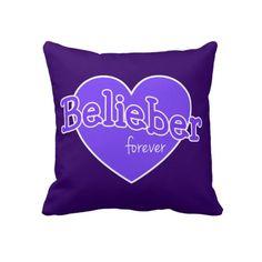 Belieber Forever Pillow - Justin Bieber  LOVE=)