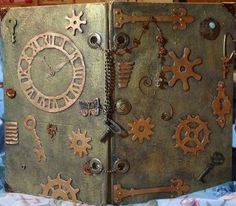 steampunk art journal -