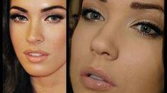 Megan Fox Makeup Tutorial - Red Carpet Glamour, via YouTube.