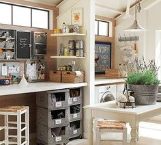 laundry / craft room