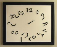 Shattered Chaos Clock, living room, bedroom