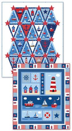 By The Sea Quilt Set -  Patti Carey