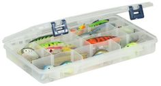 Plano 23700-01 Stowaway with Adjustable Dividers by Plano. $8.45. Plano Prolatch utility boxes make great additions to your fishing system.  They can be custom assembled to fit any need.  This box has dividers to create 4-24 compartments.