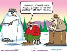 """In his own words, fishing cartoon creator Chad Carpenter """"was born at an early age"""" in Alaska. Sadly he was """"abandoned by his parents on his birthday"""". Ice Fishing, Best Fishing, Trout Fishing, Fishing Tips, Fishing Games, Fishing Stuff, Carp Fishing, Saltwater Fishing, Kayak Fishing"""