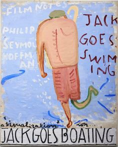 Jack Goes Swimming (Jack) by Rose Wylie on Curiator, the world's biggest collaborative art collection. Museum Exhibition, Art Museum, Marcelle Ferron, Rose Wylie, Turner Contemporary, Joy Art, Quack Quack, Royal Academy Of Arts, Digital Museum