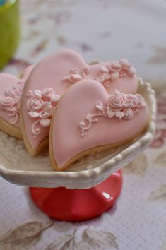 Items similar to 1 Dozen Shabby Chic Heart Cookies for Wedding Favors, Bridal Showers, Bridemaids Gifts, Baby Showers on Etsy Cookies Cupcake, Cookie Favors, Fancy Cookies, Heart Cookies, Iced Cookies, Royal Icing Cookies, Sugar Cookies, Cookies Et Biscuits, Cupcake Cakes