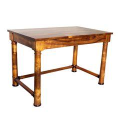 Koa wood desk, sold by Martin and McArthur, Oahu, Hawaii