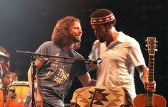 Eddie Vedder and Ben Harper