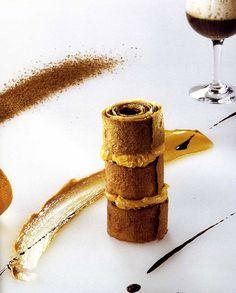 Café dessert - Michel Bras. #presentation #plating
