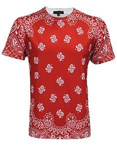 "Men's Shortsleeve All Over Sublimation T-Shirt ""Bandana Print"", XX-Large, Red Urban Icon http://www.amazon.com/dp/B00PJJZXG8/ref=cm_sw_r_pi_dp_R4Swvb0ZCCVG5"