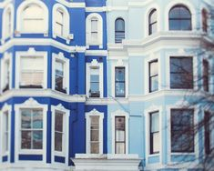 London townhouses #DreamingInBlue