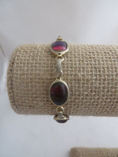 Sarah Coventry Harmony Vintage Bracelet  Rainbow by PECollectibles