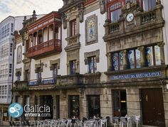 Casa Nuñez – Betanzos Edificio Modernista #Galicia Indiana, Big Ben, Villa, Building, Pictures, Travel, Hotels, Modernism, Victorian Houses