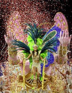 WHAT: Carnival WHERE: Rio de Janeiro, Brazil WHEN: February-March WHY: Celebrating the beginning of Lent, the Rio Carnival is considered the largest in the world with 2 million people per day flooding the streets. Colour, music, Samba and a party atmosphere.