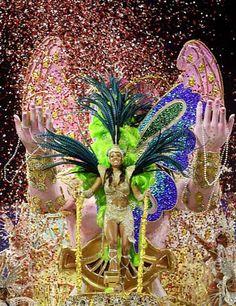 Participate in Rio Carnival, Brazil