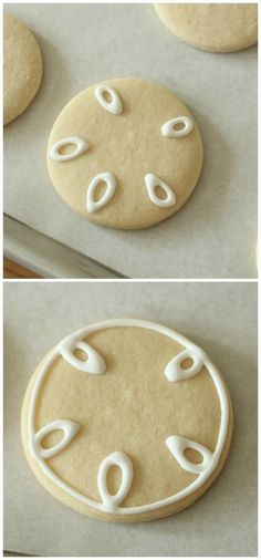 Sand Dollar Cookie How-To    ~sugarbelle