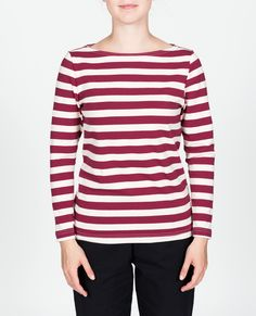 R-Collection Women's stripe shirt