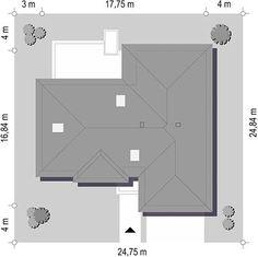 Projekt domu Willa Parterowa 2 135,75 m² - koszt budowy - EXTRADOM Dom, Best House Plans, Floor Plans, How To Plan, Home Plans, Projects, Floor Plan Drawing, House Floor Plans