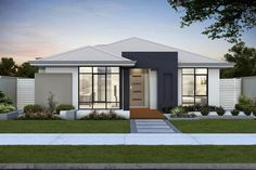 WA's affordable home builder offers the E-Series, this home design features a rear garage ideal for lane way lots the Equinox includes a lot of features..