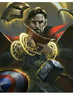 Doctor Stephen Strange, Master of the Mystic Arts