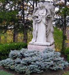 Archangel Michael, Lake View Cemetery, Cleveland, Ohio