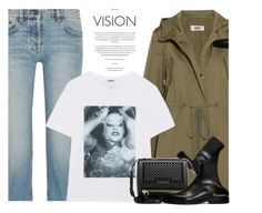 """""""These Lyrics Aren't For Everyone, Only Few Understand..."""" by hollowpoint-smile ❤ liked on Polyvore featuring MM6 Maison Margiela, The Row, Kenzo, Maison Margiela and Givenchy"""