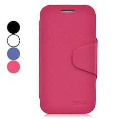 High-end Protective PU Leather Case for Samsung Galaxy S4 mini I9190 (Assorted Colors) - USD $ 12.99