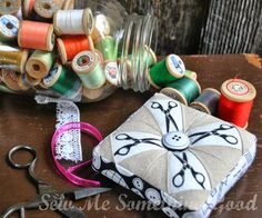 Sew Me Something Good: Zakka Along 2.0: Patchwork, Please Prettified Pincushion