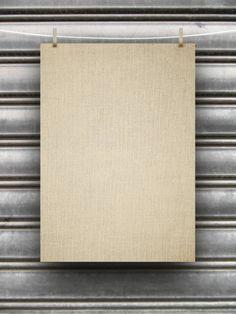 blank canvas frame
