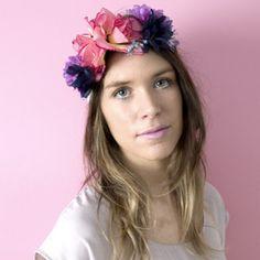 Florence - Floral Rose Bandeau
