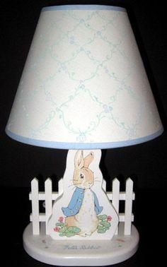 Peter Rabbit Lamp!!