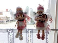 Jak zrobić szydełkiem aniołka z wełny | Szysia