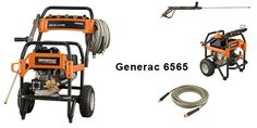 Generac 6565 4,200 PSI can be used to clean any type of surfaces. This power washer can also be used for commercial purposes.
