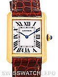 Cartier Tank Solo Small Gold and Steel Watch W1018755