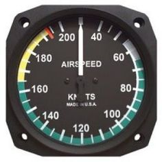 Flight Instruments: Airspeed Indicator | The speed of an aircraft through the air determines its performance in many ways. Source: cometaviationsupplies.co.za How does the indicator work? A basic airspeed indicator is a mechanical device that compares pressure from the pitot tube to pressure from the static port. The static port is... | #Airspeed, #Ice, #Instruments, #PitotStatic Ground School, Aircraft, Instruments, Training, Clocks, Air Force, Vehicle, Tube, Military