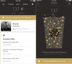 Starbucks iOS App Puts Loyalty First With New Rewards Features - http://www.ipadsadvisor.com/starbucks-ios-app-puts-loyalty-first-with-new-rewards-features