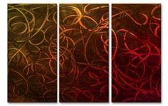 Pandemonium IV Metal Wall Art Hanging
