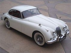 Unbelievable craftsmanship of this Vintage #Jaguar XK.  They don't make them like this anymore... #spon