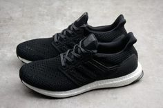 7561270382c Men s adidas Ultra Boost Clima 4.0 Black White Shoes CQ7081
