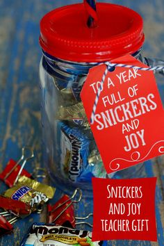Cute and Easy Snickers and Joy gift for my girl friends