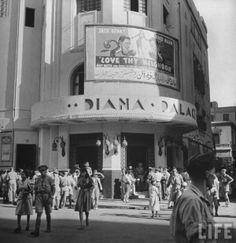 صور لمصر أثناء الحرب العالمية الثانية سينما ديانا