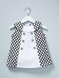Bib Colorblock Dress