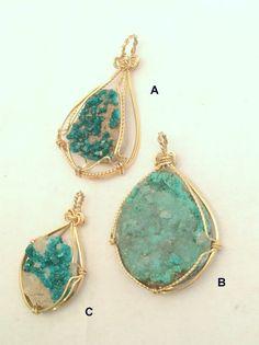 Dioptase or Aurichalcite Green Mineral by LotusLakeBuddhist