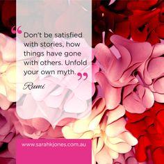 #inspiration #inspirationalquotes #rumi www.facebook.com/sarahkjonesintuitive
