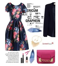 """Sammydress 33/5"" by merima-kopic ❤ liked on Polyvore featuring Gianvito Rossi, Privé, Le Métier de Beauté, OPI and sammydress"